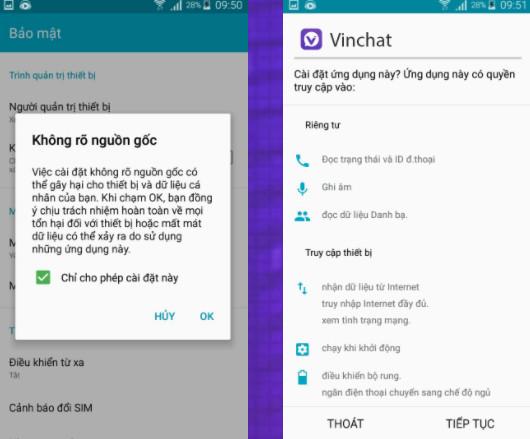 Hình ảnh vinchat app apk in Tải vinchat apk - Cập nhật vinchat cho android gắn kết otp